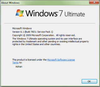 WinVer for Windows 7